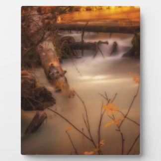 Plaque Photo Crique de casquette en or