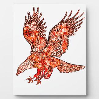 Plaque Photo Eagle