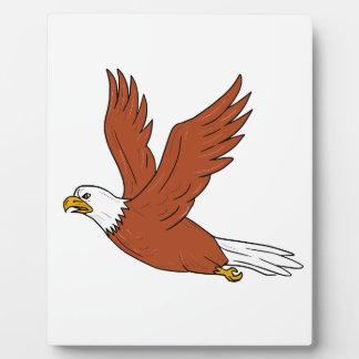 Plaque Photo Eagle fâché pilotant la bande dessinée