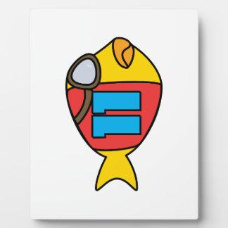 Plaque Photo emballage des poissons