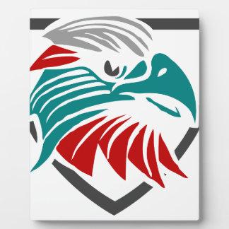 Plaque Photo Fierté et protection d'Eagle