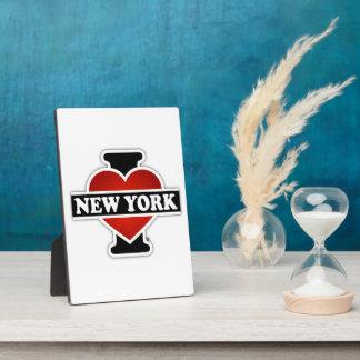 Plaque Photo I coeur New York
