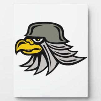 Plaque Photo Icône d'Eagle de fer