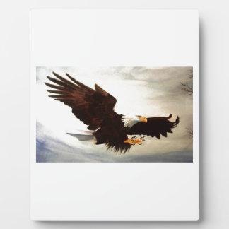 Plaque Photo Montée d'Eagle chauve