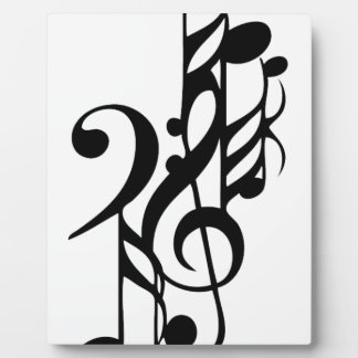 Plaque Photo Musical_notes