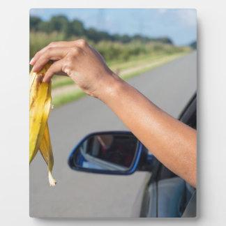 Plaque Photo Peau de chute de bras de fenêtre de voiture de