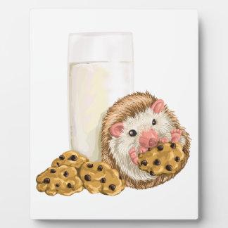 Plaque Photo Porc de biscuit