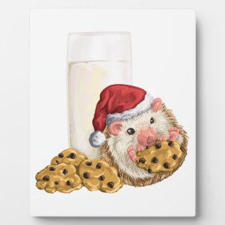 Plaque Photo Porc de biscuit de Noël