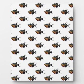 Plaque Photo Quelque chose de poisson cette manière vient