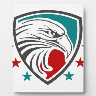 Plaque Photo Sécurité et protection d'Eagle chauve