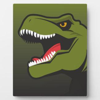 Plaque Photo T-Rex a personnalisé des articles