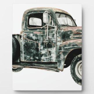 Plaque Photo Transport de véhicule des Etats-Unis d'Oldtimer de