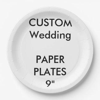 Plaques à papier de grand déjeuner fait sur assiettes en papier