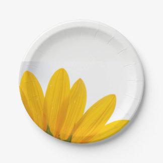 Plaques à papier de tournesol assiettes en papier