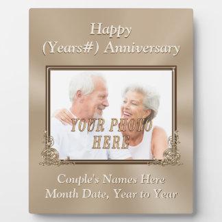 Plaques personnalisée et de photo de mariage impression sur plaque