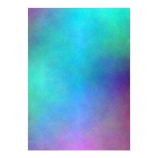 Plasma 18 carton d'invitation  12,7 cm x 17,78 cm