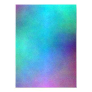 Plasma 18 carton d'invitation  13,97 cm x 19,05 cm