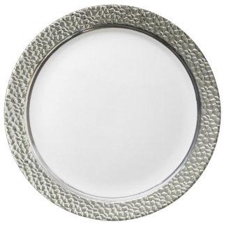 Plat Assiette En Porcelaine
