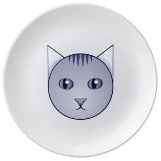Plat décoratif tigré de bande dessinée de Delft Assiette En Porcelaine