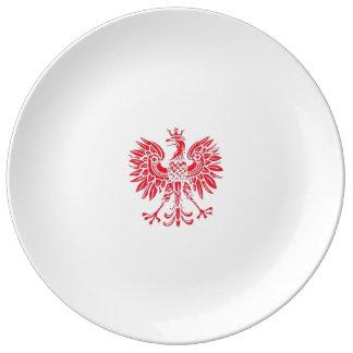 Plat polonais assiettes en porcelaine