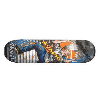 Plate-forme animale de patin planche à roulette