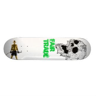 Plate-forme de planche à roulettes de commerce skateboards