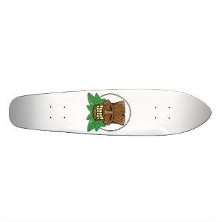Plate-forme de planche à roulettes de masque de mini skateboard 18,4 cm