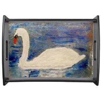 Plateau Art de lac swan