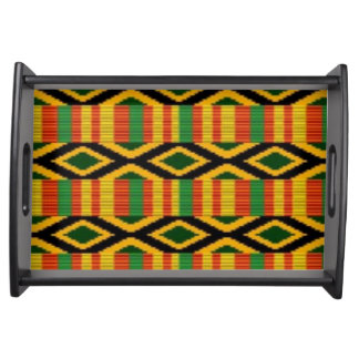 Plateau Conception multi africaine d'impression de motif