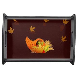 Plateau Corne d'abondance de thanksgiving
