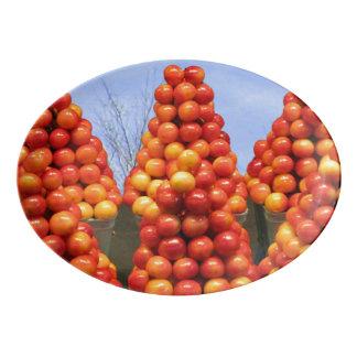 Plateau de dessert d'Apple