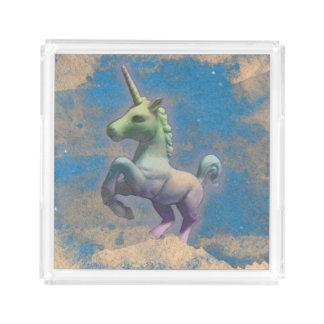 Plateau de parfum de licorne (bleu de Sandy)
