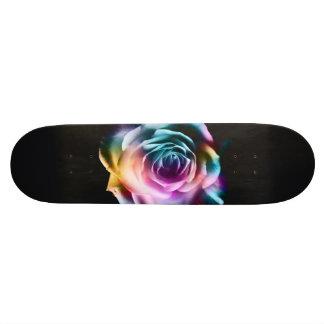 Plateau De Planche À Roulettes Planche à roulettes colorée de rose de colorant de