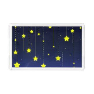 Plateau de portion de nuit étoilée