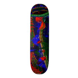 Plateau De Skateboard AU-DESSUS de l'IMG PEINT d'ABRÉGÉ SUR FRACTALE de