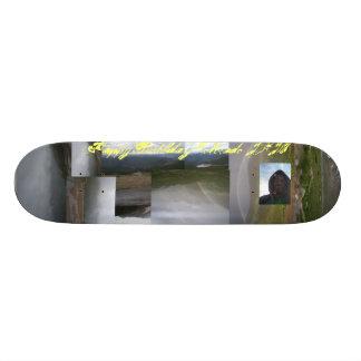 Plateau De Skateboard Patineur d'anniversaire de JayKnight le Colorado
