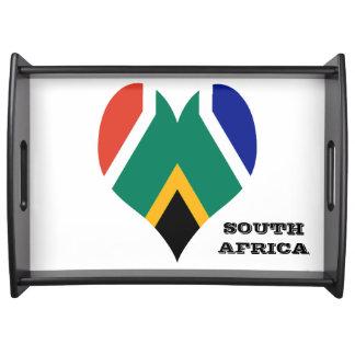Plateau Drapeau de l'Afrique du Sud Bokke