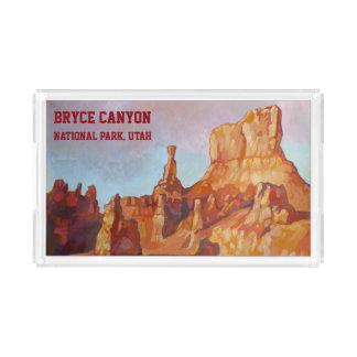 Plateau En Acrylique Canyon de Bryce - UTAH (Etats-Unis)