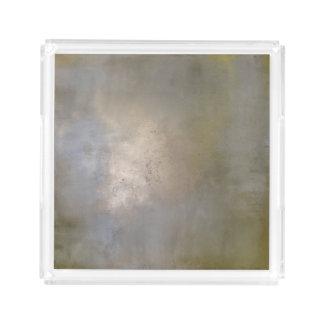 Plateau En Acrylique Fièvre de l'or