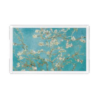 Plateau En Acrylique Fleur d'amande de PixDezines Van Gogh