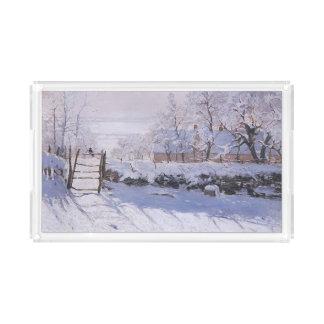 Plateau En Acrylique Pie de Claude Monet-The