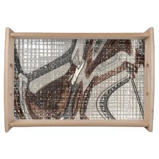 Plateau Gris et art abstrait de Brown