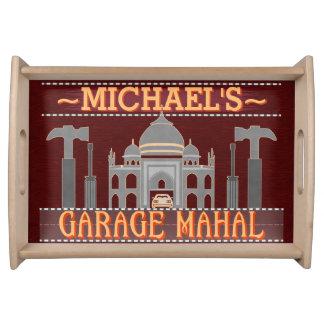 Plateau Le garage drôle Mahal de caverne d'homme usine le