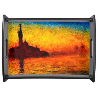 Plateau Monet-Coucher du soleil de Claude à Venise