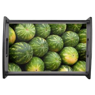 Plateau Motif de fruit de melon