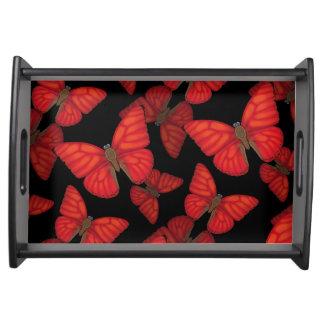 Plateau Papillon rouge sang de planeur