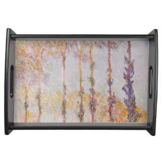 Plateau Peupliers de Claude Monet | sur les banques de