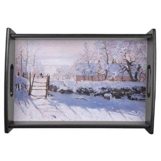 Plateau Pie de Claude Monet-The