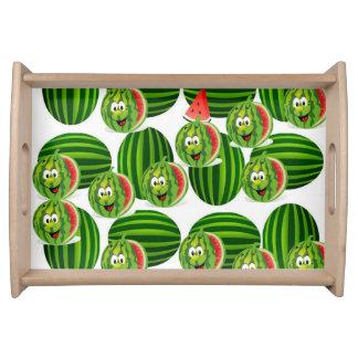 plateau rouge vert blanc de la portion des enfants