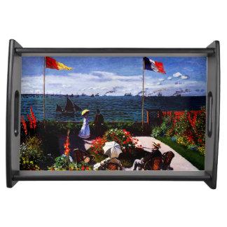 Plateau Terrasse de Claude Monet-The chez Sainte-Adresse